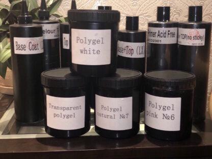 poly gel white